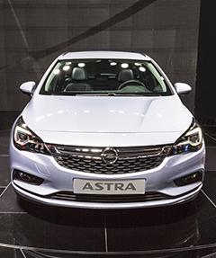 Opel Astra Usado
